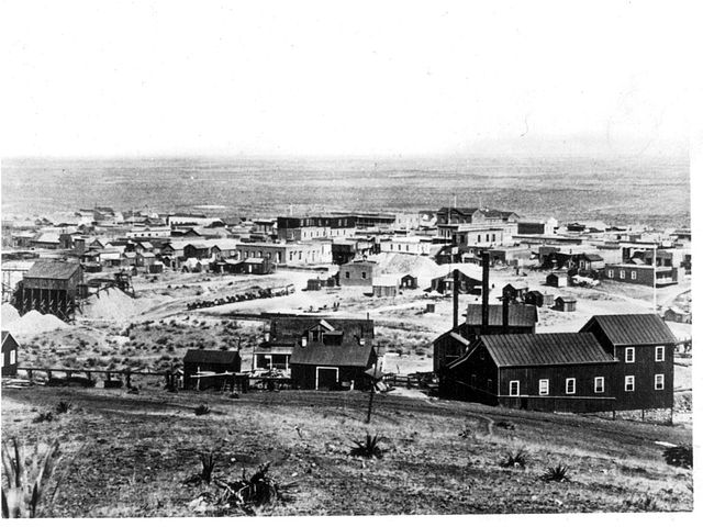 Tombstone - around 1881