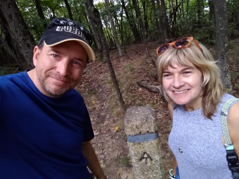us on Appalachian Trail