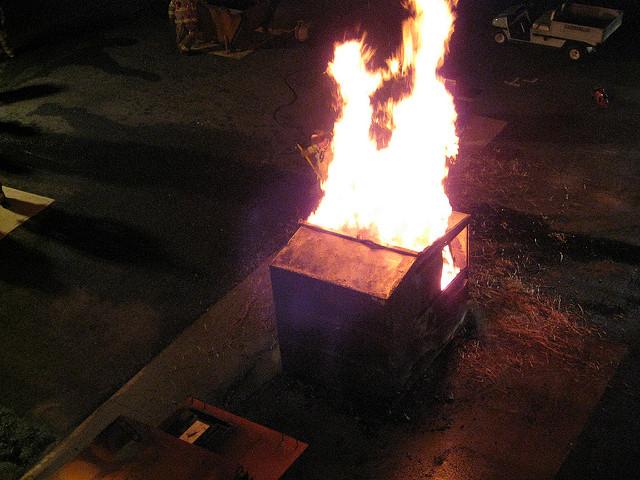 Dumpster Fire https://flic.kr/p/7Er6f4