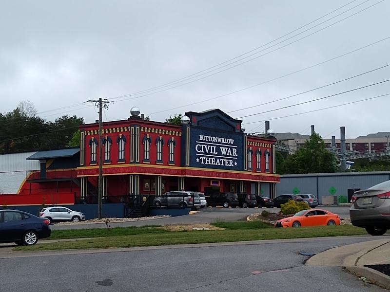 Civil War dinner theater